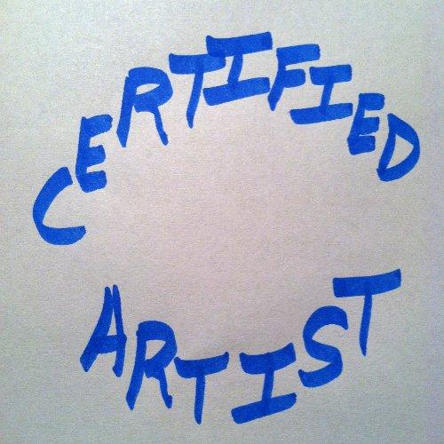 text - Certified Artist