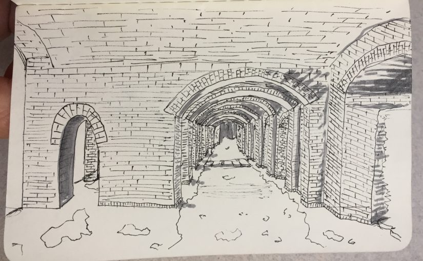 Sketching in Dry Tortugas