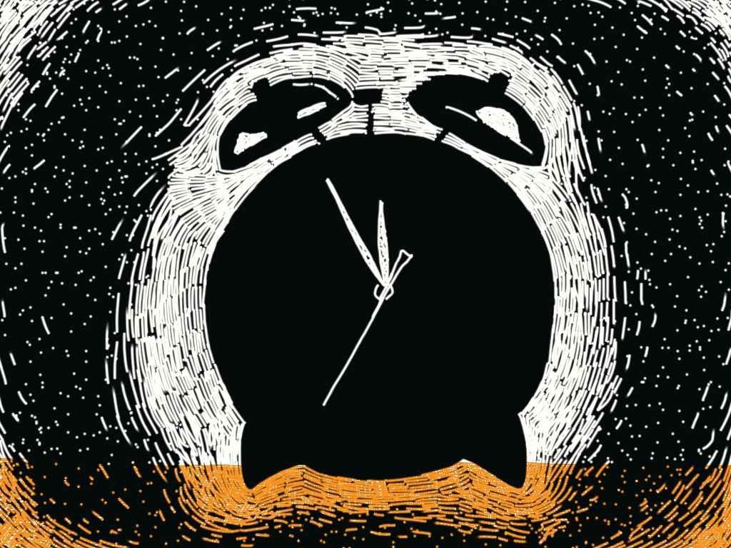 digital alarm clock - almost morning