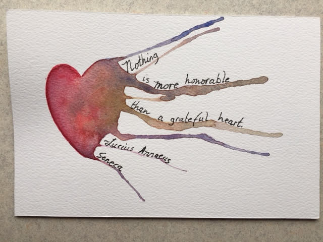 Words and Watercolors