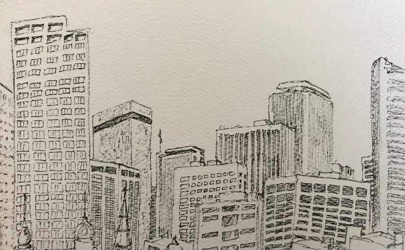 Sketching the Denver Skyline
