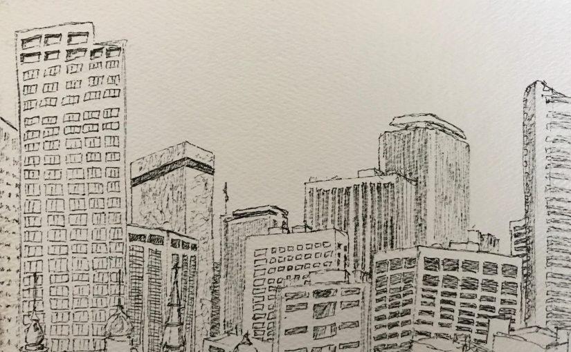 Sketching the Denver Skyline